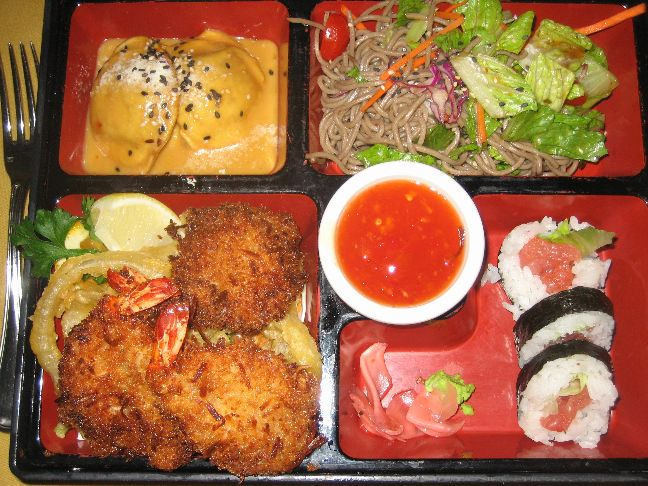 yamasaki fusion bento box
