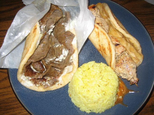 mad greek gyro and souvlaki