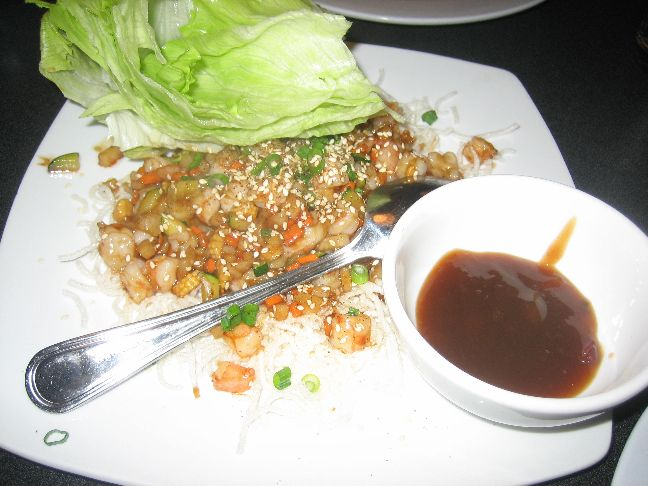 indochine lettuce wrap