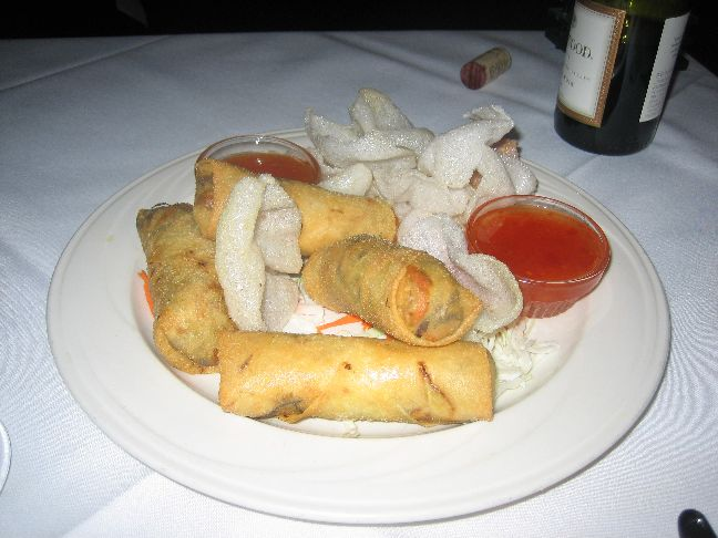 Monsoon thai bistro spring rolls