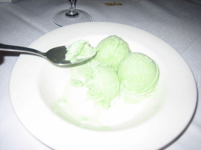 Monsoon thai bistro basil ice cream