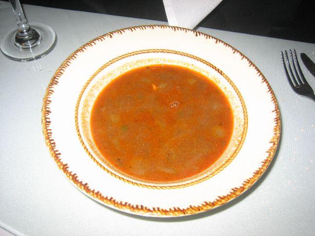Cedars of Lebanon lentil soup