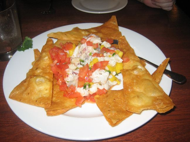 baxters american ceviche emptied