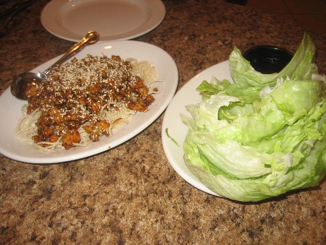 cindy lee cafe lettuce wraps