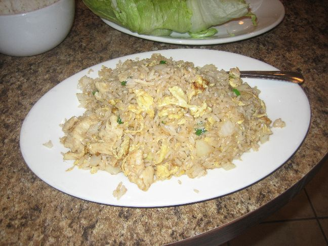 cindy lee cafe chicken fried rice
