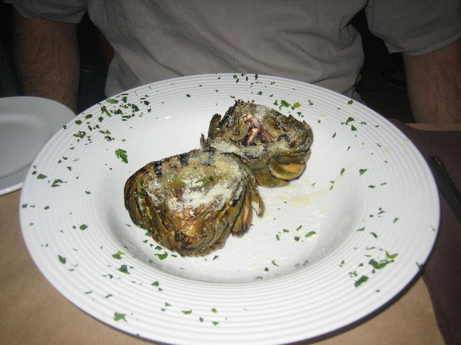 epic grilled artichoke