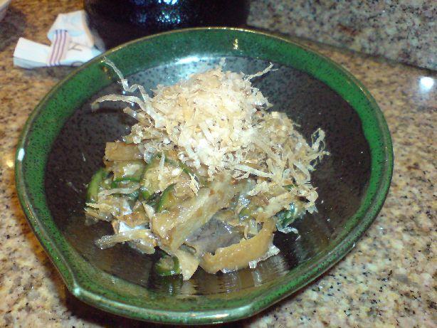 kyoto tuna skin salad