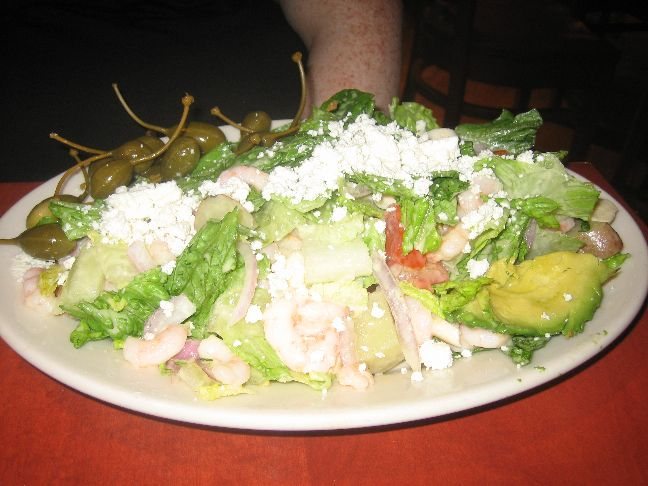 red rock bay shrimp salad