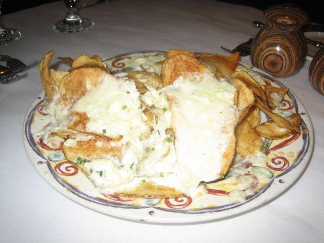 bambara blue cheese chips