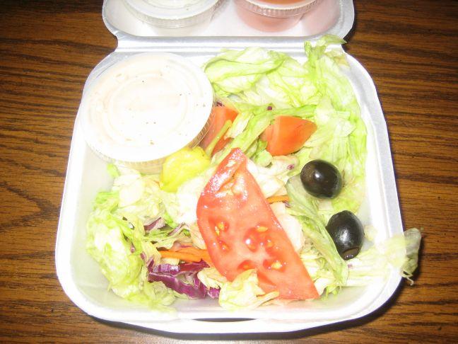 best chicken green salad