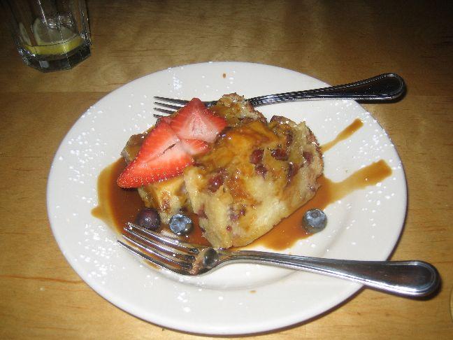 caffe molise bread pudding