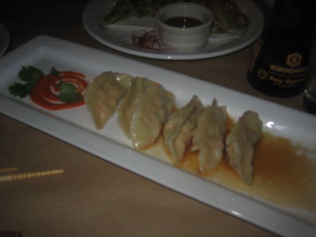 takashi salmon gyoza