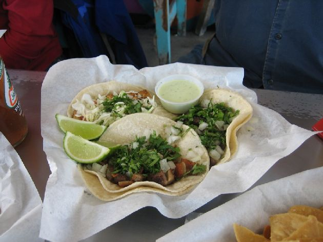 Lone Star Taqueria three tacos
