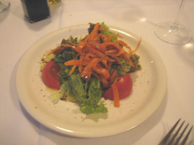 Michelangelo Ristorante insalata