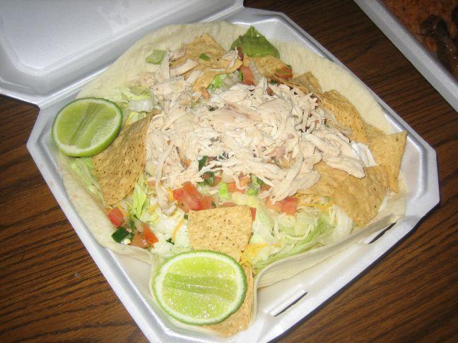 El Rooster Rojo salad