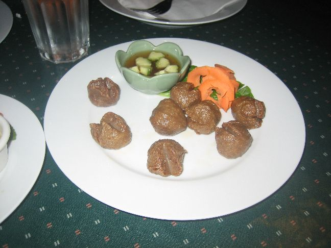 tasty thai meatballs