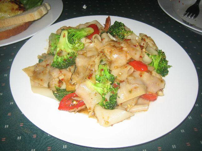 tasty thai seafood noodles