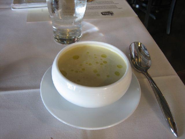 tipica sunchoke soup