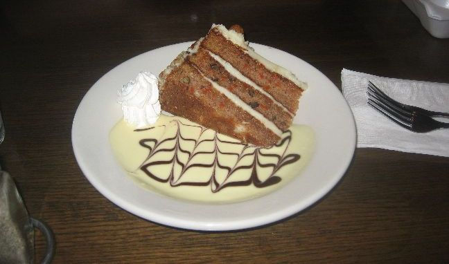 fiddlers elbow carrot cake