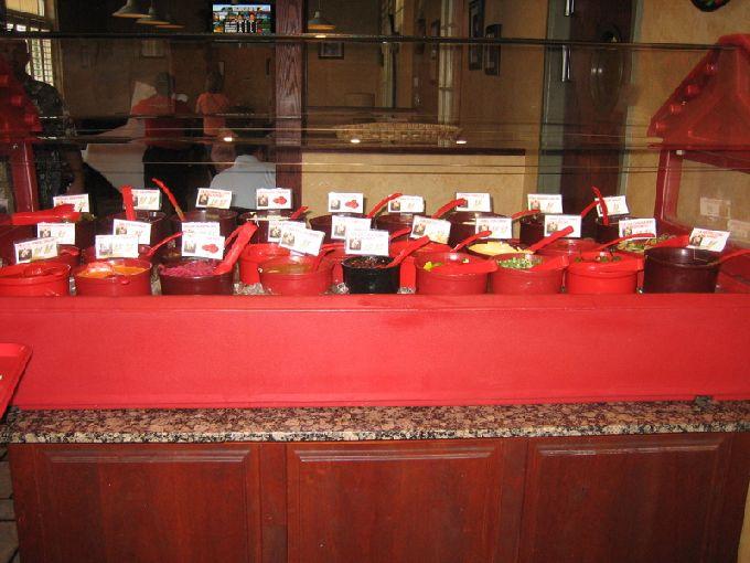 tarahumara salsa bar 1