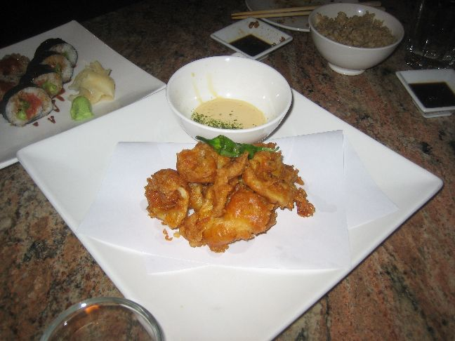 naked fish calamari karaage