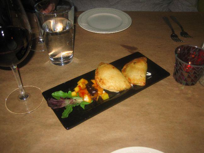 frida bistro duck empanadas