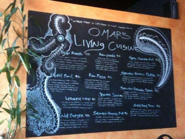 omar's menu