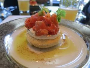 epic and bambara salmon tartare