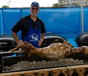 salt lake city greek festival spit roast