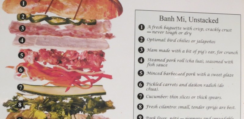 anatomy of banh mi