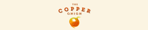 copper onion banner brunch