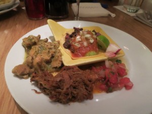bacchanal mexican plate