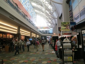 inside outdoor retailer show