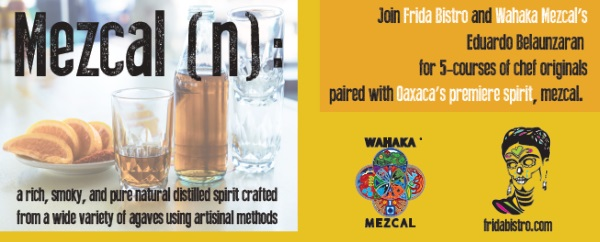wahaka mezcal and frida bistro logo