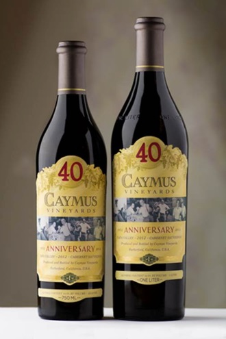 caymus 40th anniversary