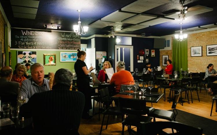 meditrina restaurant interior