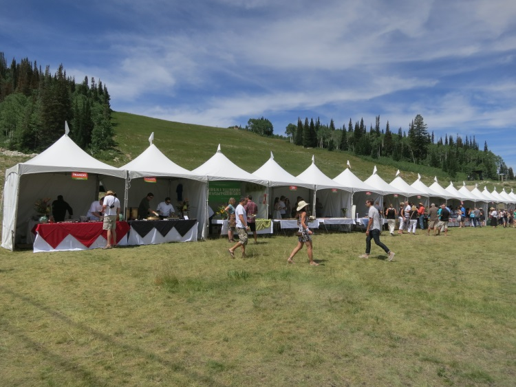 beautiful scenes at taste of the wasatch 2013