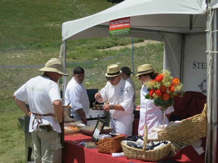 chef zane holmquist at taste of the wasatch 2013