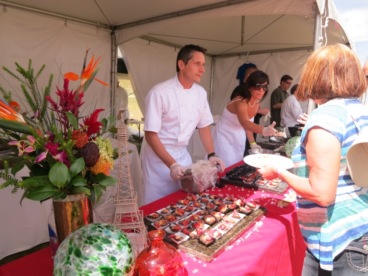 franck peissel at taste of the wasatch 2013