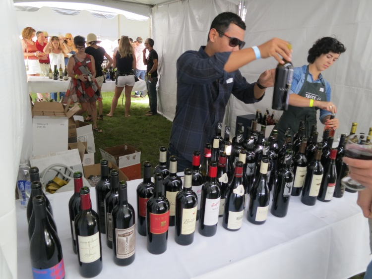 wines at taste of the wasatch 2013