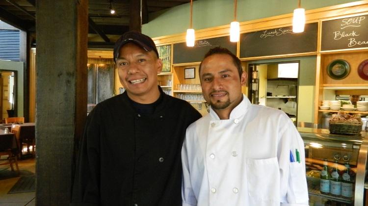Oasis Cafe Chef Efren Benitez