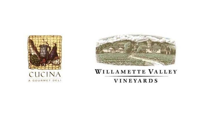 cucina and willamette valley logos