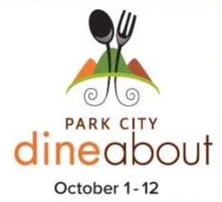 park city dine about logo