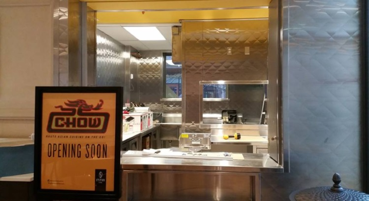 chow at station park farmington coming soon