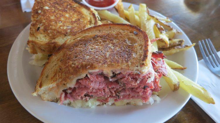 feldmans deli reuben sandwich
