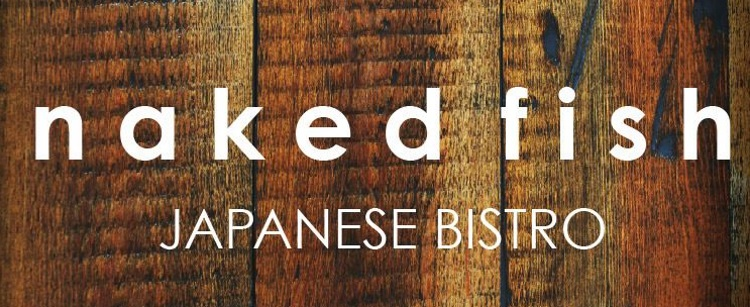 naked fish japanese bistro logo