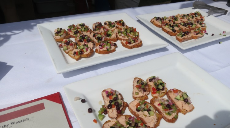 Taste Of The Wasatch: Trout mousse