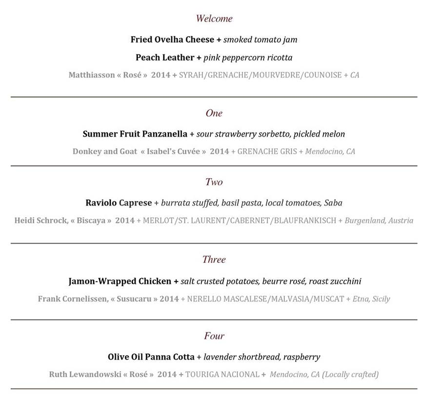 pago rose advocacy menu 2015