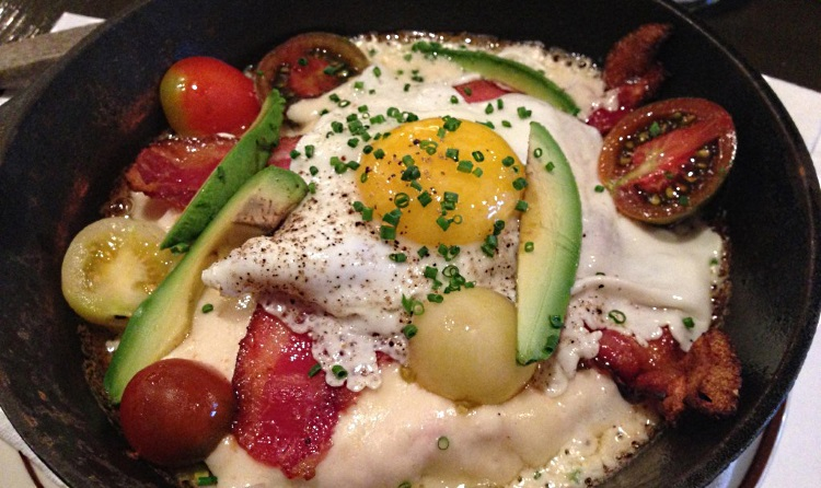 kentucky hot brown at hub and spoke