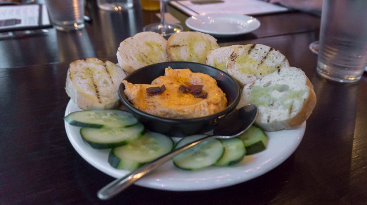 bruleed pimiento cheese at porch